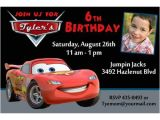 Lightning Mcqueen Party Invites Lightning Mcqueen Birthday Party Invitations