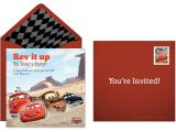 Lightning Mcqueen Party Invites Plan A Speedy Cars Birthday Party