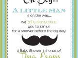 Lil Man Baby Shower Invitations Little Man Baby Shower Invitation Printable by Partypopinvites