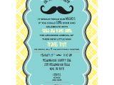Lil Man Baby Shower Invitations Little Man Mustache Baby Shower Printable Invitation