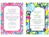 Lilly Pulitzer Birthday Invitations Lilly Pulitzer Personalized Invitations