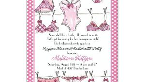 Lingerie Bridal Shower Invites Lingerie Line Bridal Shower Invitations