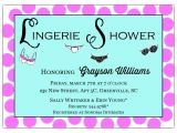 Lingerie Party Invites Lingerie Party Invitation Paperstyle