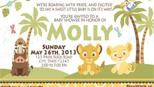 Lion King Baby Shower Invitations Party City Party City Lion King Baby Shower