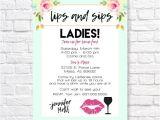 Lipsense Facebook Party Invite Lipsense Invitation Lipsense Launch Party Invite Lips