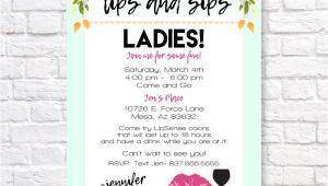 Lipsense Launch Party Invite Lipsense Invitation Lipsense Launch Party Invite Lips