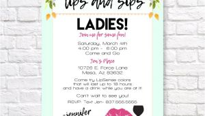 Lipsense Party Invite Template Lipsense Invitation Lipsense Launch Party Invite Lips