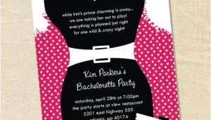 Little Black Dress Bachelorette Party Invites Sweet Wishes Little Black Dress Bachelorette Party Invitations