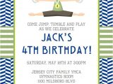 Little Gym Party Invitations Gymnastics Invitation by Little Laws Prints