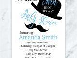 Little Man Baby Shower Invitation Templates Free Mustache Baby Shower Invitations Oxyline D0f9134fbe37