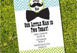 Little Man Birthday Invitation Template Free Online Little Man Birthday Party Invitation Boy Birthday Invite