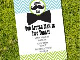 Little Man Birthday Invitation Template Little Man Birthday Party Invitation Boy Birthday Invite