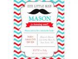 Little Man Birthday Invitation Template Mustache Little Man Birthday Party Invitations