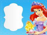 Little Mermaid Birthday Invitation Template Little Mermaid Invitation Template Invitations Online
