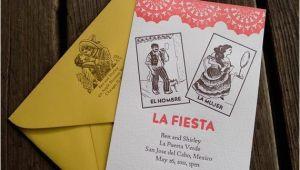 Loteria Wedding Invitations Items Similar to Mexican Loteria Digitally Printed Wedding