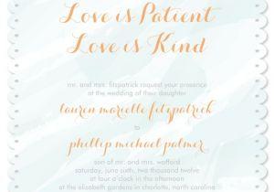 Love is Patient Love is Kind Wedding Invitations Wedding Invitations Love is Patient at Minted Com