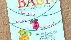 Luau themed Baby Shower Invitations Tropical Esie Luau Baby Shower Invite by Lovesweetpeacards