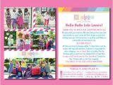 Lularoe Party Invite Wording Items Similar to Lularoe Blitz Card Lula Roe Marketing