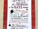 Mad Hatter Bridal Shower Invitation Wording Mad Hatter Tea Invitation