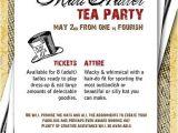 Mad Hatter Tea Party Birthday Invitations Mad Hatter Invitation Design