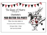 Mad Hatter Tea Party Invitation Template Free Mother Daughter Tea Mad Hatter theme Invitations Google