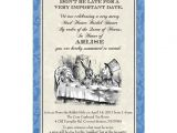 Mad Hatter Tea Party Invitation Wording Bridal Shower Invitations Free Printable Mad Hatter