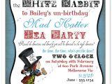 Mad Hatter Tea Party Invitations Free Printable Mad Hatter Invitation