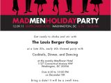 Mad Men Party Invitations Mad Men Holiday Party Invitation On Aiga Member Gallery