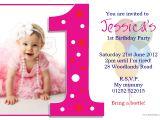 Make 1st Birthday Invitations 1st Birthday Invitations Girl Free Template Baby Girl S