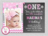Make 1st Birthday Invitations Birthday Invitation Cards Baby Girl First Birthday