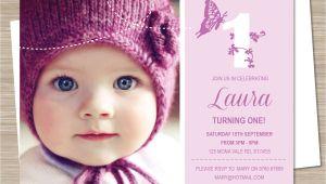 Make 1st Birthday Invitations First Birthday Party Invitations