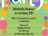 Make An Informal Invitation Card for A Birthday Party Birthday Invitation Wording Ideas