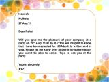 Make An Informal Invitation Card for A Birthday Party formal and Informal Invitation Kls 11 Kurikulum 2013