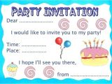 Make An Invitation Card for Your Birthday Party Make Your Own Party Invitations