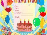 Make An Invitation Card for Your Birthday Party top 19 Invitation Cards for Birthday Party
