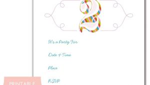 Make Birthday Party Invitations Online for Free to Print 41 Printable Birthday Party Cards Invitations for Kids