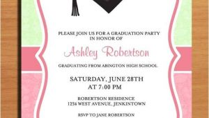 Make Graduation Party Invitations Paisley Graduation Party Invitation Cards Printable Diy