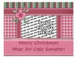 Make My Own Christmas Party Invitations Create Your Own Ugly Sweater Christmas Party 4 25×5 5