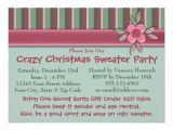 Make My Own Christmas Party Invitations Create Your Own Ugly Sweater Christmas Party Personalized