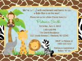 Make Your Own Baby Shower Invitations Online Free Free Printable Jungle Baby Shower Invitations
