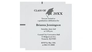 Make Your Own Graduation Invitation Cards Create Your Own Graduation Invitation 3 Zazzle