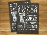Male Birthday Invitation 17 Best Images About 30th Birthday Invite On Pinterest