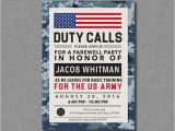 Marine Going Away Party Invitations 14 Best Army Going Away Invitations Images On Pinterest