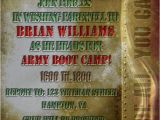 Marine Going Away Party Invitations Military Invitation Army Marines Military Going Away