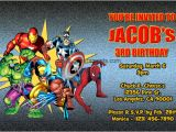 Marvel Party Invitation Template Free Marvel Superhero Invitations General Prints