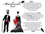 Masquerade Ball Party Invitations Wording Masquerade Ball Invitation