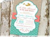 Mermaid Bridal Shower Invitations Mermaid Baby Shower Invitation Bridal Shower 1365 Wedding