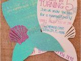 Mermaid Party Invitation Template 12 Mermaid Invitations Mermaid Party Invitations Nautical