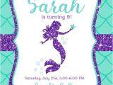 Mermaid Party Invitation Template Free Mermaid Invitation Template for Your Kids 39 Parties