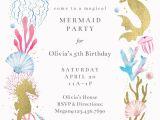 Mermaid Party Invitation Template Mermaid Merriment Birthday Invitation Template Free